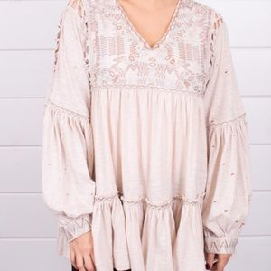 Free People Much Love Tunic Top